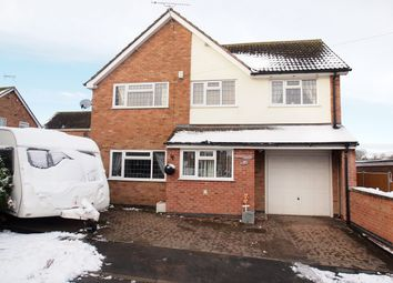 Thumbnail 4 bed detached house for sale in Park Street, Fleckney, Leicester