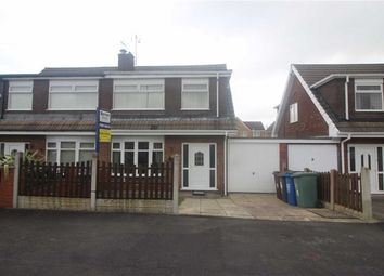 Thumbnail 3 bed semi-detached house for sale in Crossdale Road, Hindley Green, Wigan