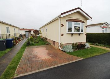 Thumbnail 2 bed mobile/park home for sale in Willow Way, St. Ives, Huntingdon