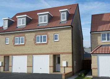 "Thumbnail 3 bedroom semi-detached house for sale in ""Wetherby"" at Laughton Road, Thurcroft, Rotherham"