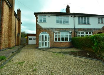 Thumbnail 3 bed semi-detached house for sale in Stockwell Road, Leicester