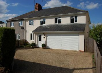 Thumbnail 5 bedroom semi-detached house for sale in West Haddon Road, Guilsborough, Northampton