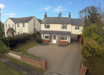 Thumbnail 5 bed detached house for sale in Ipswich Road, Brantham, Manningtree, Essex