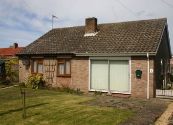 Thumbnail 1 bed semi-detached bungalow to rent in Beech Way, Dickleburgh