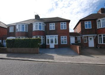 Thumbnail 4 bed semi-detached house for sale in Park Avenue, Gosforth, Newcastle Upon Tyne