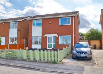 Thumbnail 4 bed detached house for sale in Ravendale Drive, Lincoln