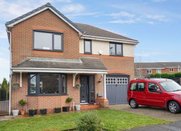 Thumbnail 4 bed detached house for sale in The Triangle, Huncoat, Accrington