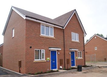 Thumbnail 2 bed semi-detached house to rent in Moon Crescent, Spirit Quarters, Coventry