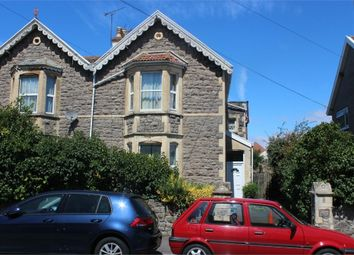 Thumbnail 3 bed semi-detached house for sale in Moorland Road, Weston-Super-Mare, Somerset