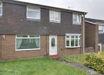 Thumbnail 3 bed semi-detached house for sale in Burlawn Close, Sunderland