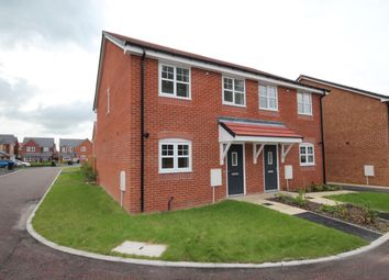 Thumbnail 3 bed semi-detached house for sale in Lapwing Close, Claughton-On-Brock, Preston