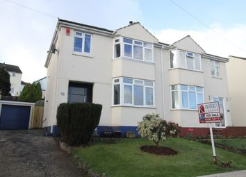 Thumbnail 3 bed semi-detached house for sale in Hawkins Avenue, Torquay