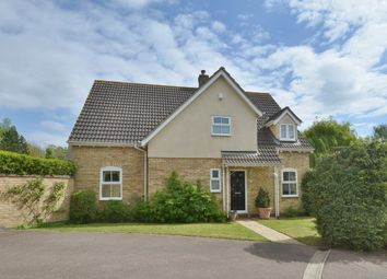 Thumbnail 4 bed detached house for sale in Brewers Close, Longstanton
