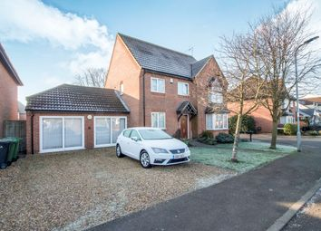 Thumbnail 6 bed detached house for sale in Soke Road, Newborough, Peterborough