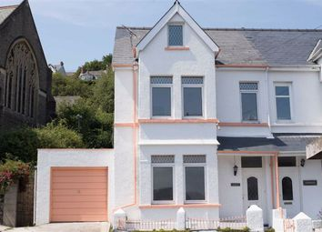 Thumbnail 5 bedroom end terrace house for sale in Church Road, Goodwick