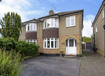 Thumbnail 3 bed semi-detached house for sale in Shenfield Crescent, Brentwood