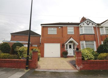Thumbnail 4 bed semi-detached house for sale in Overdale Crescent, Urmston, Manchester