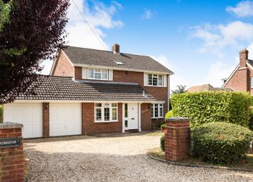 Thumbnail 4 bed detached house for sale in Brickworth Road, Whiteparish, Salisbury