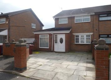 Thumbnail 3 bed property to rent in Camdale Close, Liverpool