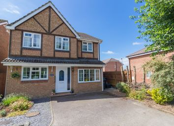 Thumbnail 4 bed detached house for sale in Teasel Close, Andover