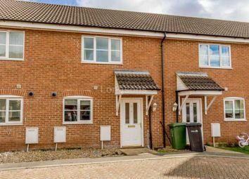 Thumbnail 2 bed terraced house for sale in Franklin Way, Watlington, King's Lynn