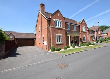 Thumbnail 5 bed detached house to rent in Grenedier Close, Shinfield