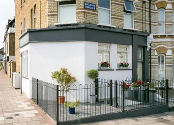 Thumbnail 3 bed flat for sale in Shelgate Road, London