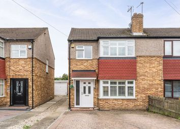 Thumbnail 3 bed semi-detached house for sale in Gloucester Avenue, Waltham Cross, Hertfordshire
