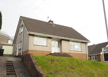 Thumbnail 3 bed detached bungalow for sale in High Cross Lane, Rogerstone, Newport