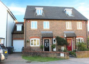 Thumbnail 4 bed terraced house for sale in Lucksfield Way, Angmering, Littlehampton