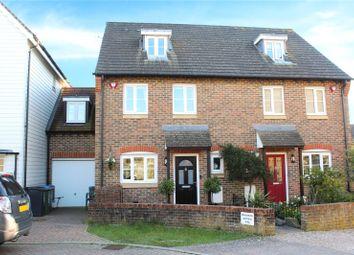 4 bed terraced house for sale in Lucksfield Way, Angmering, Littlehampton BN16