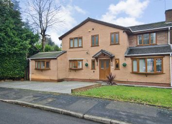 Thumbnail 6 bed detached house for sale in Glen Close, Walsall