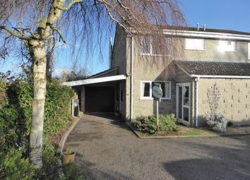 Thumbnail 3 bed semi-detached house for sale in Hoskings Close, Curry Rivel, Langport