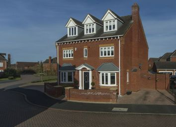 Thumbnail 5 bedroom detached house for sale in Dulwich Grange, Bratton, Telford, Shropshire.