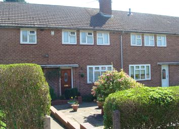 Thumbnail 3 bed terraced house for sale in Irwin Avenue, Rednal