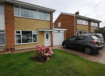 Thumbnail 3 bed semi-detached house to rent in Chadderton Drive, Thornaby, Stockton-On-Tees