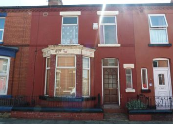 Thumbnail 3 bedroom terraced house to rent in Barrington Road, Wavertree, Liverpool