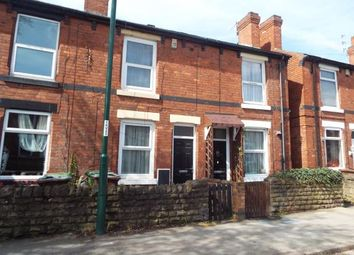 Thumbnail 2 bed terraced house for sale in Vernon Road, Basford, Nottingham, Nottinghamshire