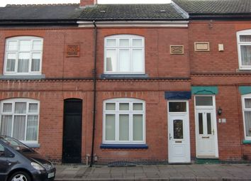 Thumbnail 3 bed terraced house to rent in Chaucer Street, Leicester
