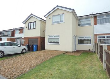 Thumbnail 4 bed semi-detached house for sale in Fields End, Huyton, Liverpool