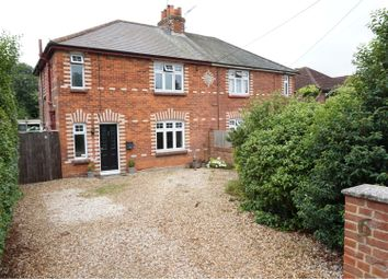 Thumbnail 3 bed semi-detached house to rent in Roman Road, Basingstoke