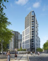 Thumbnail 1 bed flat for sale in Montpellier House, Hammersmith