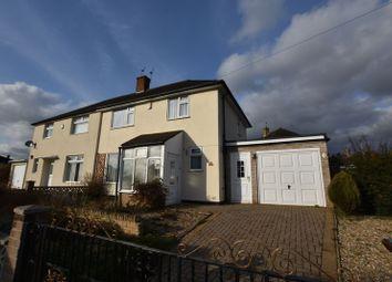 Thumbnail 3 bedroom semi-detached house to rent in Glencoe Road, Clifton, Nottingham