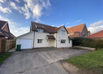 Thumbnail 5 bedroom detached house to rent in Norwich Road, Saxlingham Nethergate, Norwich