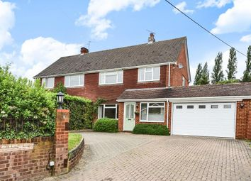 Thumbnail 4 bed semi-detached house for sale in Church Road, Farley Hill