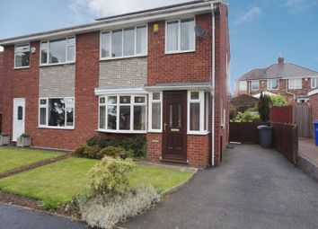 Thumbnail 3 bed semi-detached house for sale in Watchfield Close, Meir, Stoke-On-Trent