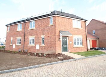 Thumbnail 3 bedroom semi-detached house for sale in The Newbury, Eastrea Road, Whittlesey, Peterborough