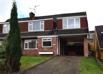 Thumbnail 4 bed semi-detached house to rent in Roundwood Close, Penylan, Cardiff.