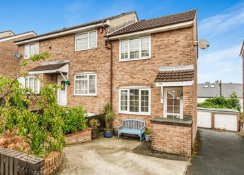 Thumbnail 2 bedroom end terrace house for sale in Higher Compton, Plymouth, Devon