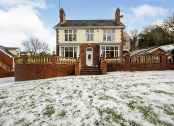 Chesterfield Road, Oakerthorpe, Alfreton DE55. 4 bed detached house for sale